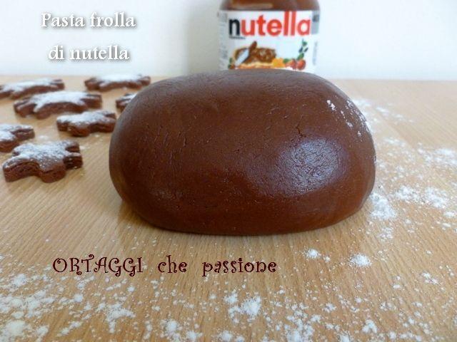 Pasta frolla di nutella, ricetta golosa