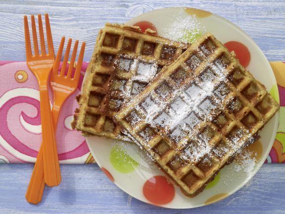 Nut Waffles with Honey | Eat Smarter
