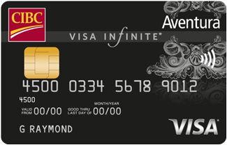 CIBC Aventura Visa Infinite Card | Travel credit cards ...