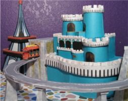 So darling! Downloadable paper craft of all the buildings in Mr. Roger's Neighborhood of Make Believe!