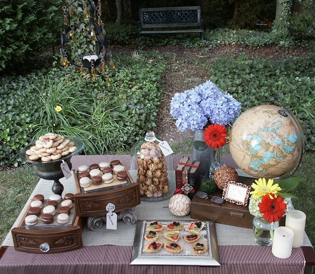 French country party theme leah 39 s wedding pinterest for French inspired party food