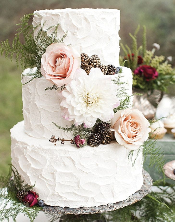 7 wedding cake trends that will make your mouth water - Wedding Cake Design Ideas