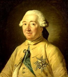 "Louis de Noailles, 4th duc de Noailles 1713-1793.  He was a Marshal of France. His refusal to emigrate during the Revolution led to his own execution. His widow, nicknamed ""Madame Etiquette""(lady in waiting to Marie Antoinette), granddaughter, brother, sister, sister in law and niece were all guillotined in 1794."