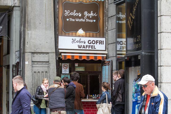 Strandkajából belvárosi kedvenc - Habos Gofri | WeLoveBudapest.com