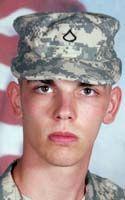 Pfc. Trevor B. Adkins, 21,  Spring Lake, NC,  978th MP Co. Ft Bliss, TX,  KIA Jul 8, 2012 | Faces of the Fallen | The Washington Post