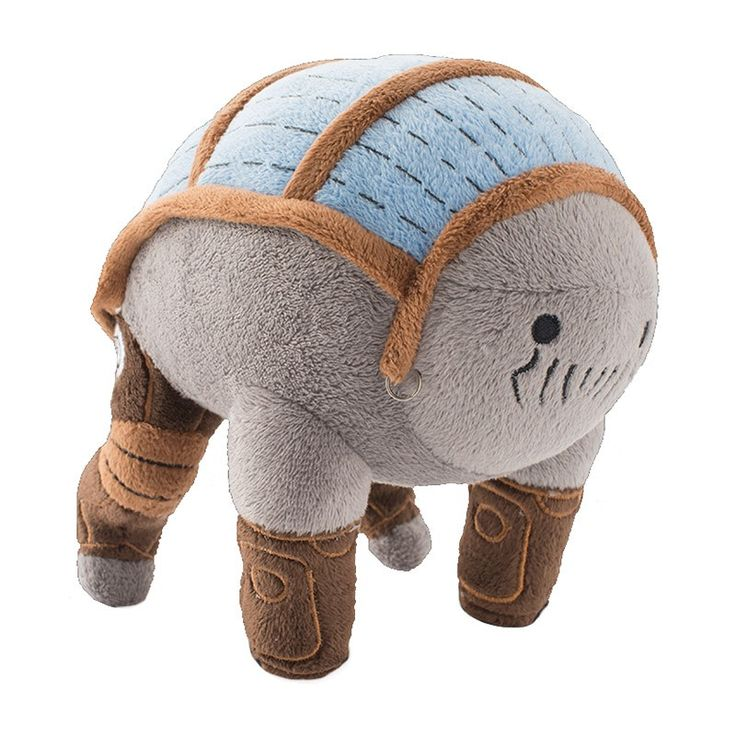 [Delighted] Elcor plushies look so... plushy.