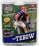 Name: Tim Tebow University of Florida College Football Figure Manufacturer: McFarlane Toys Series: McFarlane Toys College Football Sports Picks Series 4 Release Date: July 2012 For ages: 4 and up Details (Description): The vocal University of Florida alum became the first sophomore in NCAA history to take home the Heisman in 2007. The all-american quarterback holds the school and SEC record for most touchdown in a single season (51) and helped lead the Gators to two National Championships in…