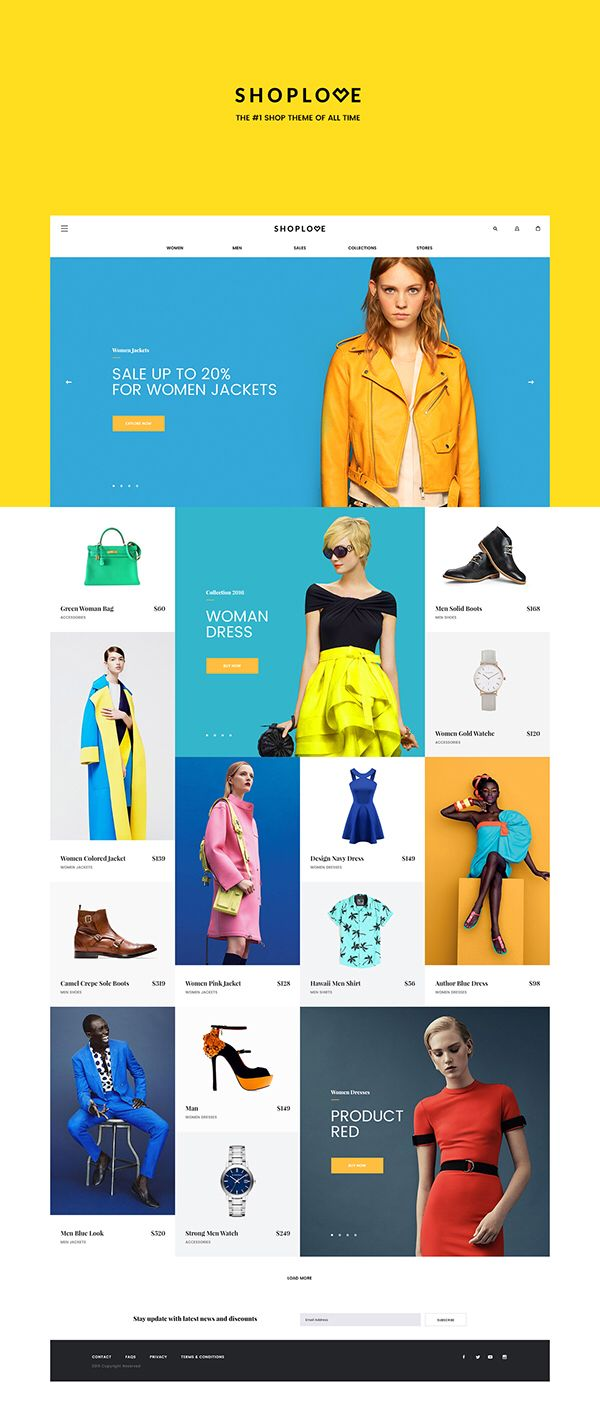 The background color yellow, is definitely memorable #UX