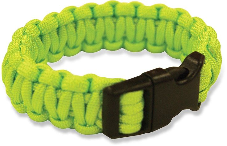 Be prepared at REI Outlet: Survival Paracord Bracelet. Puts 8 ft. of cord right on your wrist.