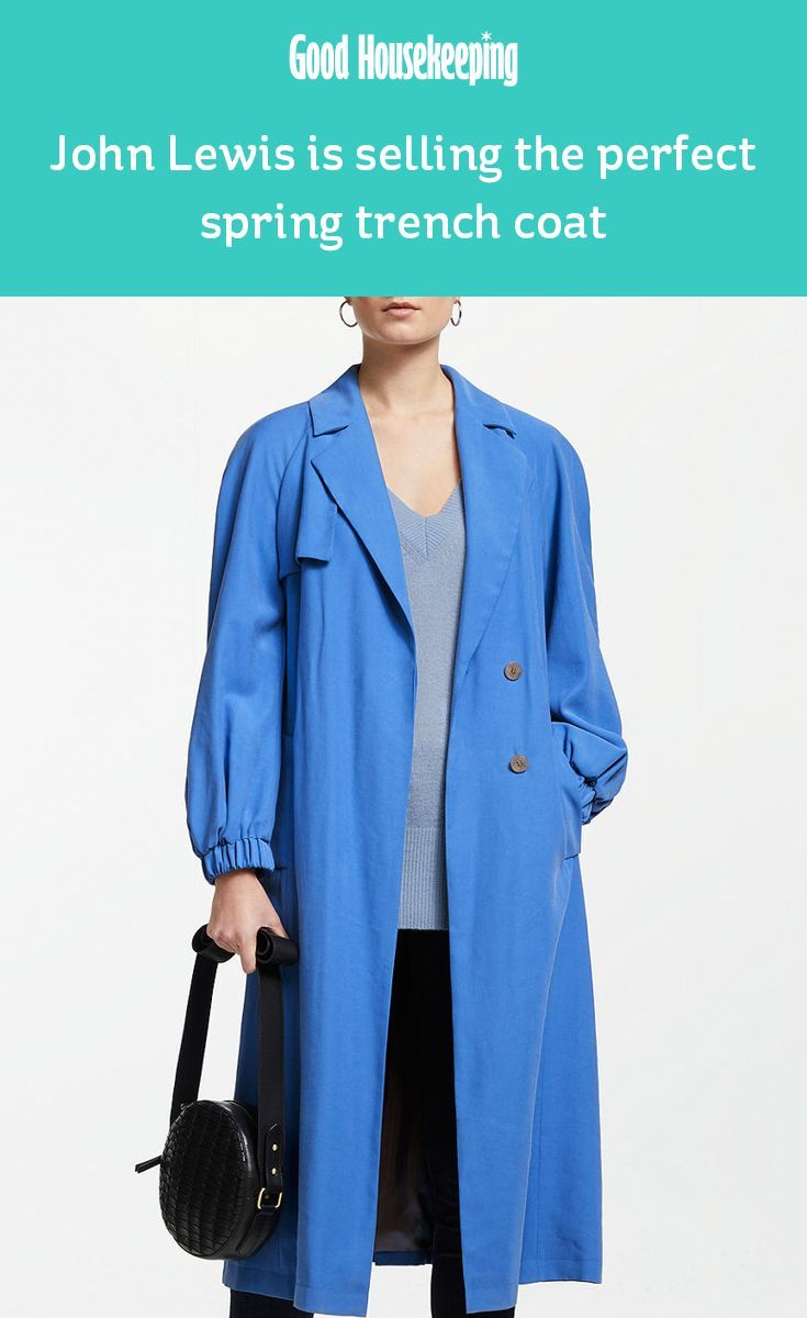 f639f91e8 John Lewis is selling the perfect trench coat for spring | Fashion ...