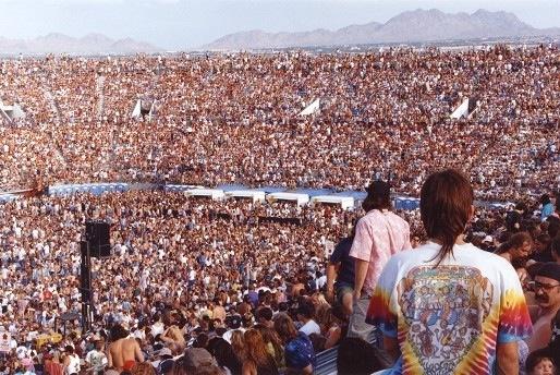 Dead Heads Sam Boyd Silver Bowl Las Vegas Nv 1995
