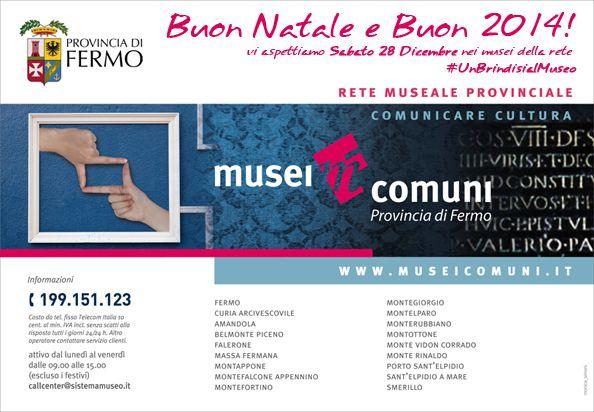#UnBrindisialMuseo  Sabato 28 Dicembre presso i Musei della rete museale Musei Comuni http://www.museicomuni.it/news-det.php?id=106