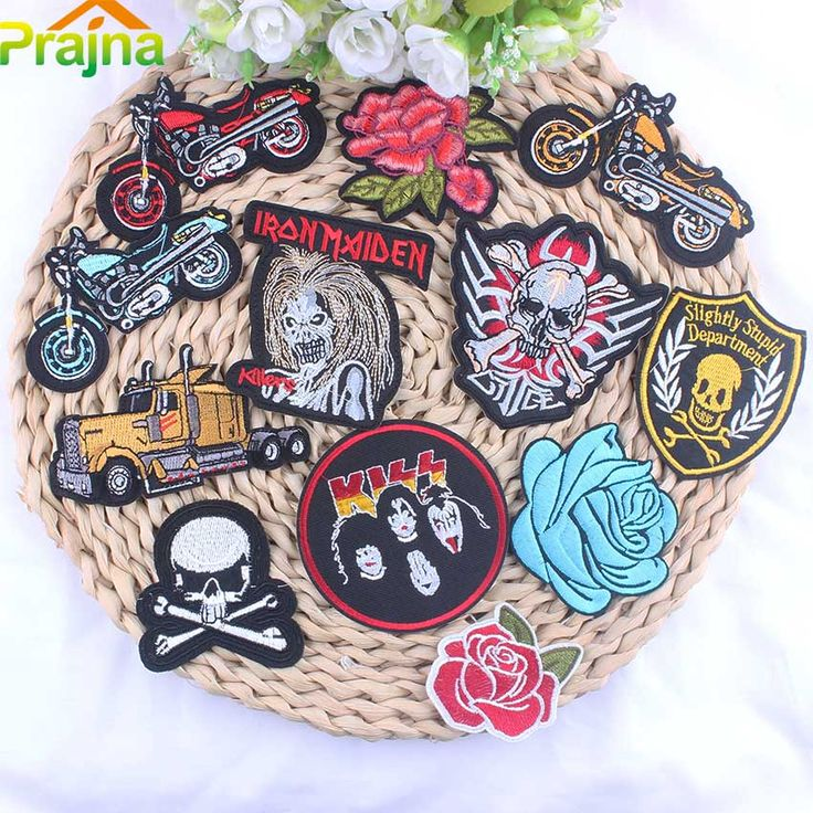 ZOTOONE Punk Patch Rock Band Skull Patch Biker Iron On Cheap Embroidered Motorcycle Patches For Clothes Stickers Jeans Badges -  Check Best Price for. This shopping online sellers provide the information of finest and low cost which integrated super save shipping for ZOTOONE Punk Patch Rock Band Skull Patch Biker Iron On Cheap Embroidered Motorcycle Patches For Clothes Stickers Jeans Badges or any product.  I hope you are very lucky To be Get ZOTOONE Punk Patch Rock Band Skull Patch Biker…