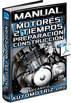 Descargar Manual Completo de Motores de 2 Tiempos - Preparación, Relación de Compresión, Carburación, Mejoras, Equilibrado, Modificación y Construcción Gratis en Español y PDF.
