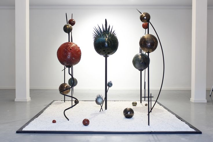Ceramic and steel installation
