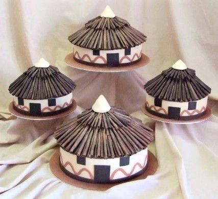 south african themed wedding cakes south xhosa hut cakes wedding ideas 20289