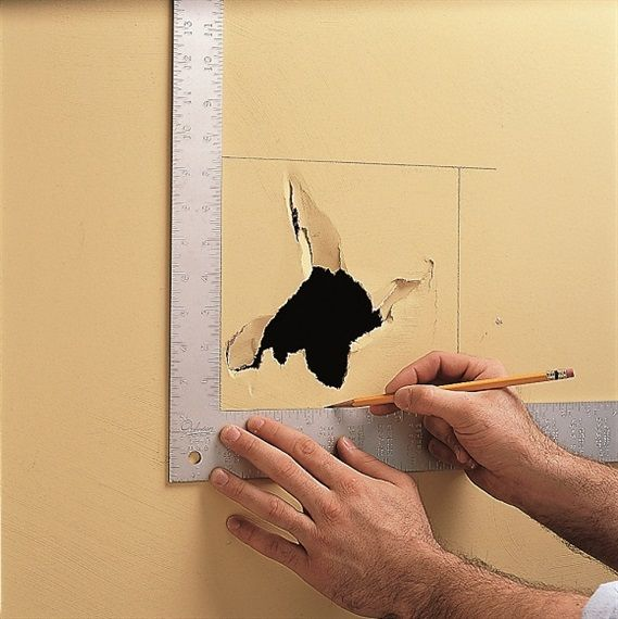 Patch Large Holes In Drywall Black Decker Patching Holes In Walls Repair Drywall Hole Fix Hole In Wall