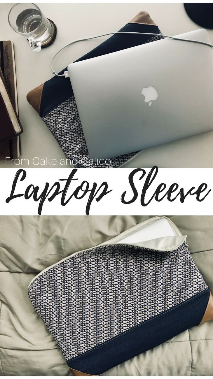 A tutorial on how to make a laptop sleeve, or if you scale it down, an iPad mini sleeve!