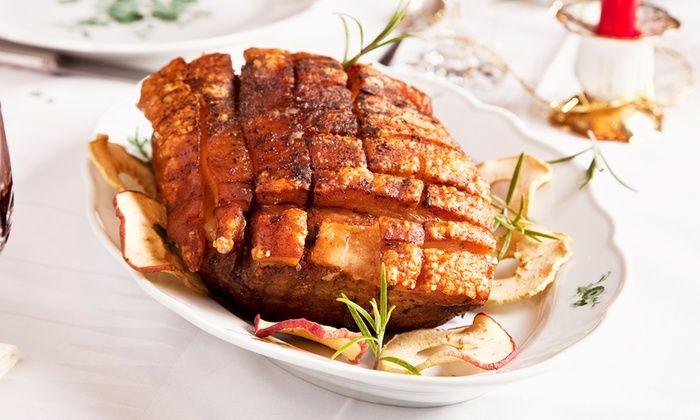 La Rotissoire - Perpignan: Cochon de lait rôti et café gourmand pour 2 ou 4 personnes dès 39,90 € à La Rotissoire
