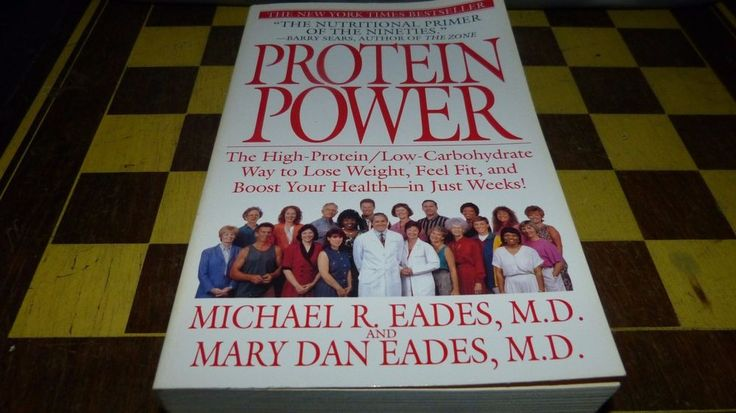 PROTEIN POWER by MICHAEL R. EADES Paperback Book (English) DIET BOOK