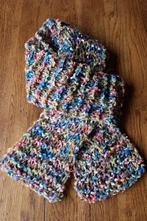 Cora Cooks   Knit Two - Simple Colorful Scarf