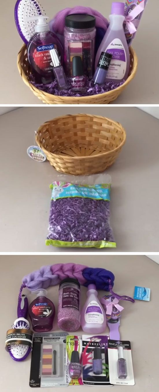 Dollar Tree Spa Set | DIY Mothers Day Gift Basket Ideas | DIY Christmas Gift Ideas for Family Mom