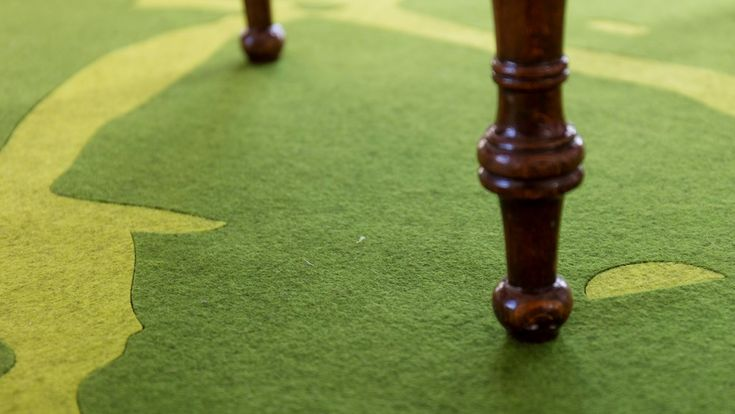 Fraster felt carpet design Seastar with beautiful details