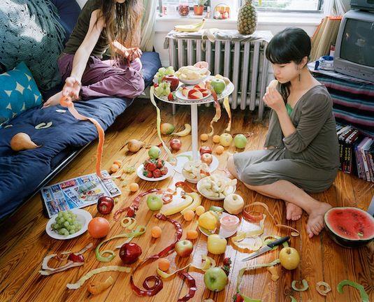 pretty pretty fruitSatomishirai, Fortune Tell, Shirai 白井里実, Fruit Design, Contemporary Photography, Food Parties, Satomi Shirai, Healthy Food, Cinematic Photography