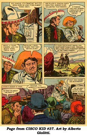 The Cisco Kid By Rod Reed Jose Luis Salinas 1951 Alberto Giolitti