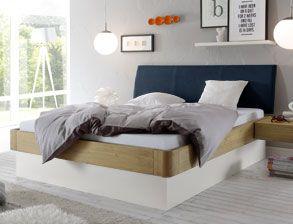 Bett Majuro Mit Sockel Und Optionalem Bettkasten