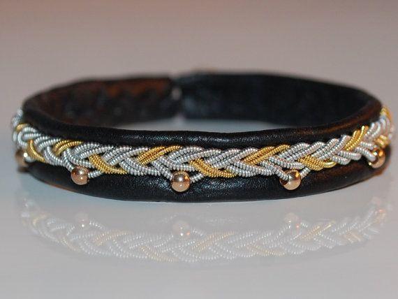 Check out this item in my Etsy shop https://www.etsy.com/se-en/listing/263413278/swedish-sami-bracelet-of-pewter-thread