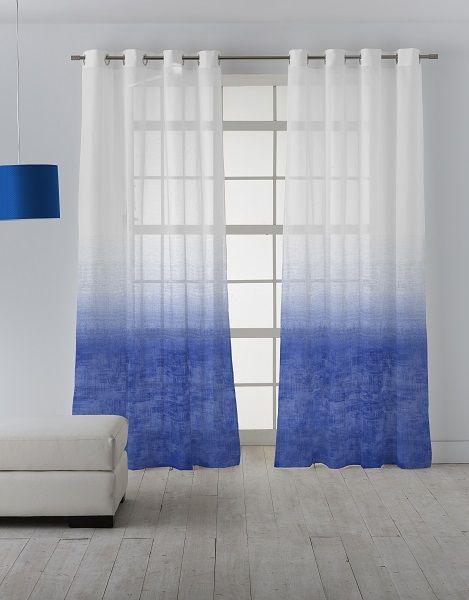 La colección de tejidos para cortina Linum es una colección de visillos modernos en tres coloridos, marrón , azul y rosa.  Nos hemos inspirado en tendencia de los diseños degradados.  Estos visillos degradados gracias a la fuerza de sus colores y a la luminosidad que aportan, resultan un acierto para decorar ambientes jóvenes y desenfadados.  #Scenesdecoración #Scenesvisillos #Scenestejidos #Scenesbyvanico