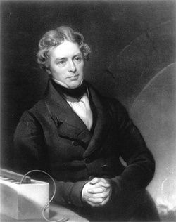 Portrait of Michael Faraday #science