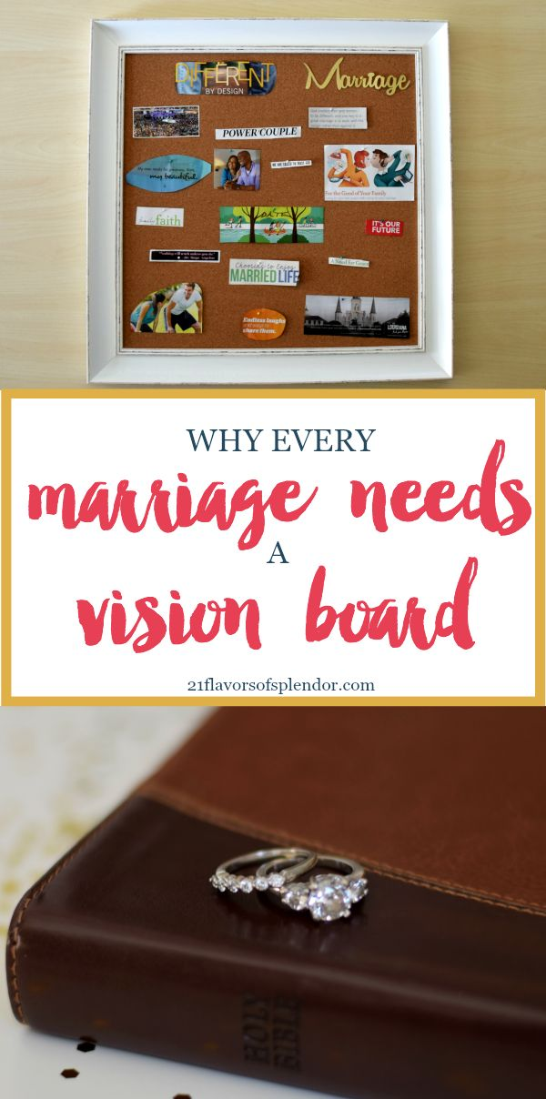 Creating a marriage vision board is a great way to have a visual reminder of the plans, goals and visions you have for your marriage. Click...