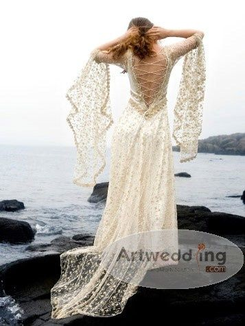 1000 Images About Celtic Wedding Dresses On Pinterest