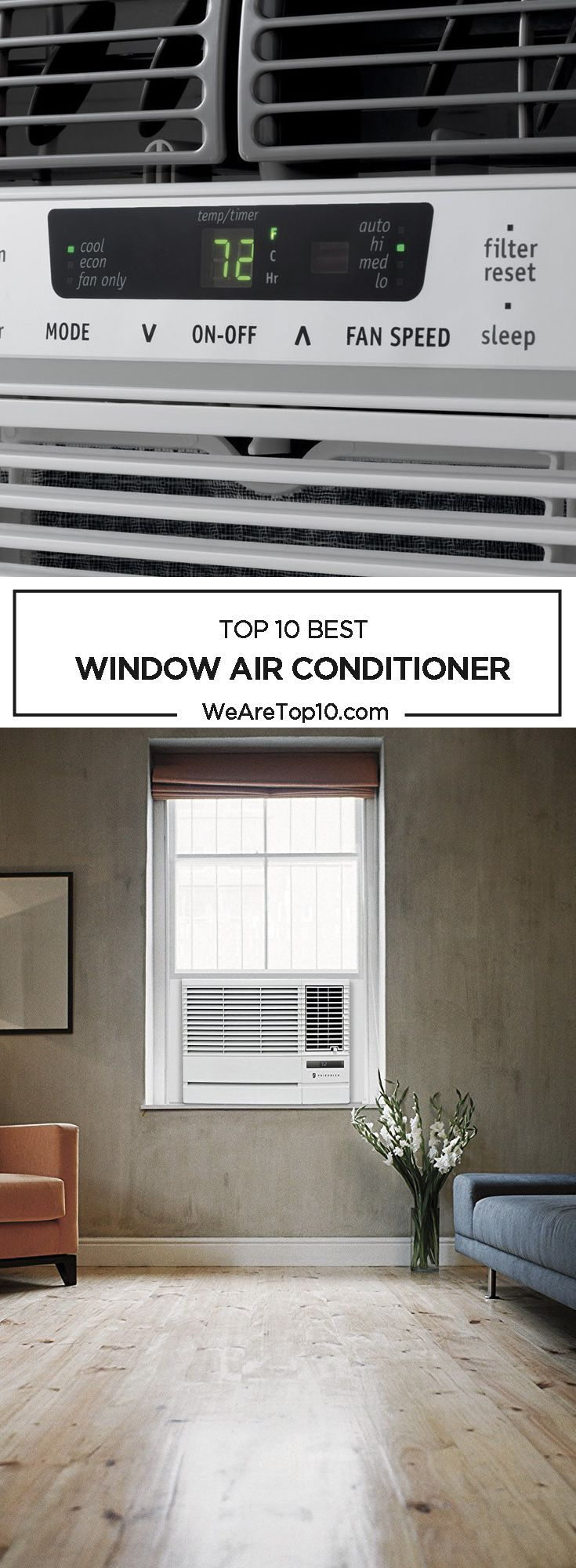 Window Air conditioners are available in different prices with various features that are best to beat the heat. In this review, you will get to know about the Top 10 Best Window Air Conditioner.