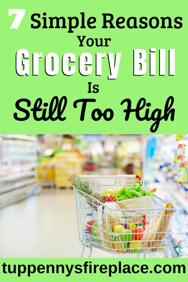 709e2267a92 Great tips on why your grocery bill is so high and how to lower it but