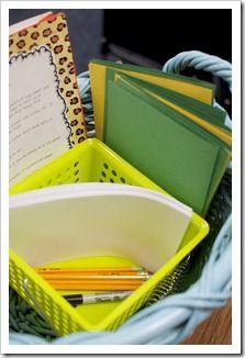matériel pour écrire un mini-livre qui peut être lu par tout le monde dans la classe, d'après sa propre histoire: une couverture colorée pour le titre et l'auteur et des feuillets intermédiaires pour écrire et dessiner ses phrases