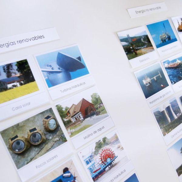 Proyecto energías renovables y no renovables + Imprimibles