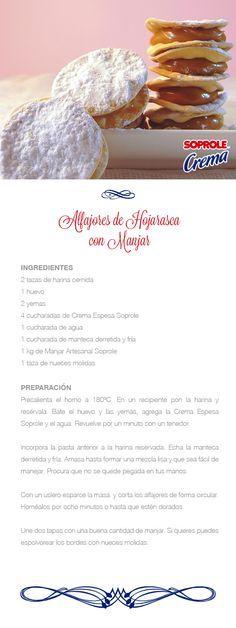 Alfajores de Hojarasca con Manjar