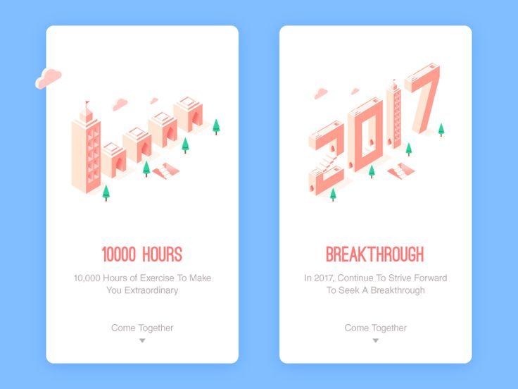 10000 hours by bill_uid #Design Popular #Dribbble #shots