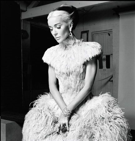 The Real Daphne Guiness in Alexander McQueen - Photographed by Derek Blasberg Harper's Bazaar March 2011 | Flickr - Photo Sharing!