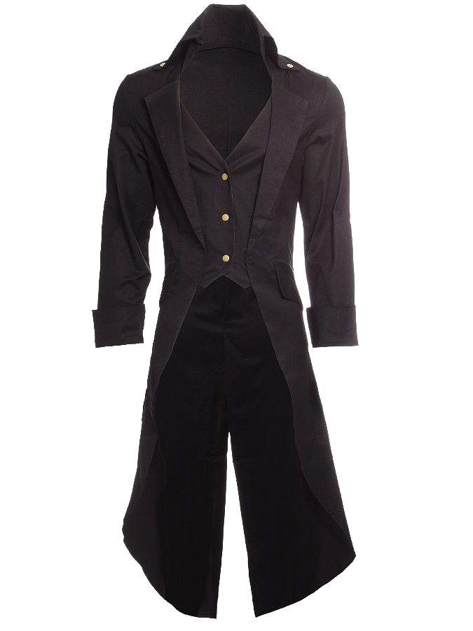 Gothic | Fashion Goth in 2019 | Steampunk coat, Steampunk