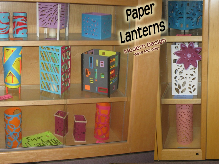 Paper Lanterns ~Smith Middle School, Miss Murphy