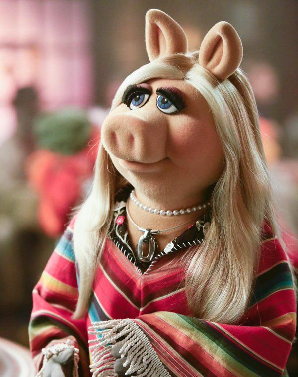 An elegant poncho, moi, and a brand new episode of The Muppets are upon vous! Tune in tonight at 8:30/7:30c on ABC! Miss Piggy, February 2016