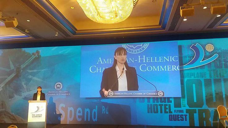 Technology Essential for Greek Tourism Growth', Minister Kountoura Talks Tech.