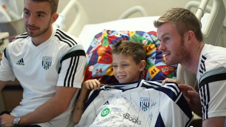 UC Davis Children's Hospital patients received a special visit from West Bromwich Albion FC players and Sacramento Republic FC.