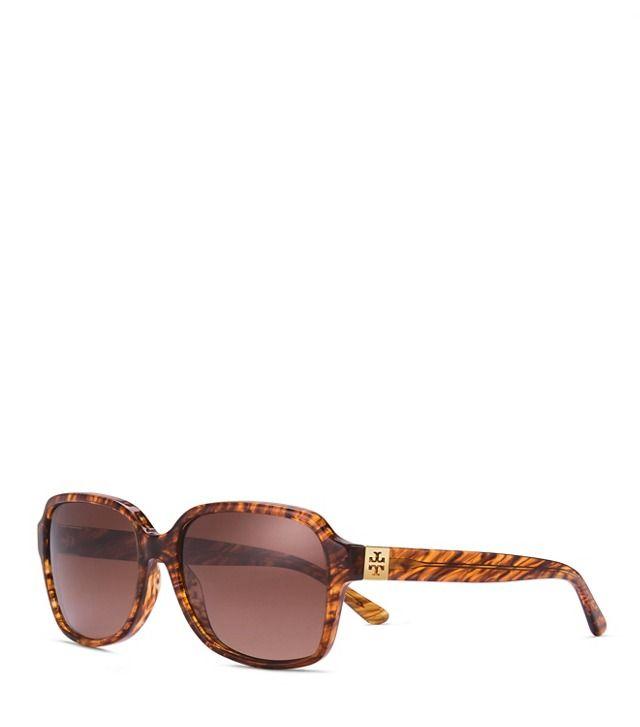 Pierced-T Rectangle Sunglasses