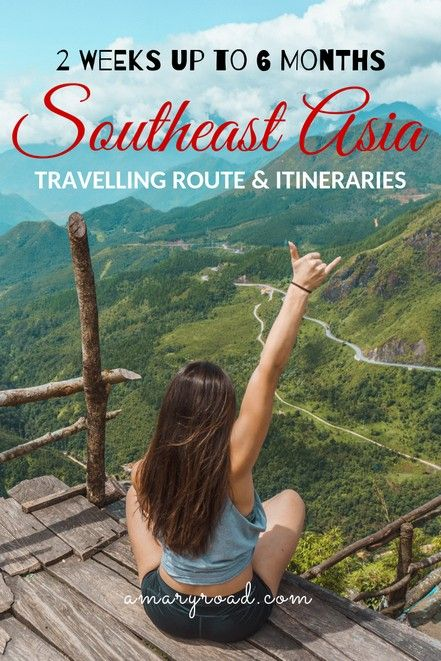 [2019] Southeast Asia Journey Route and Itineraries: From 2 weeks as much as 6 months