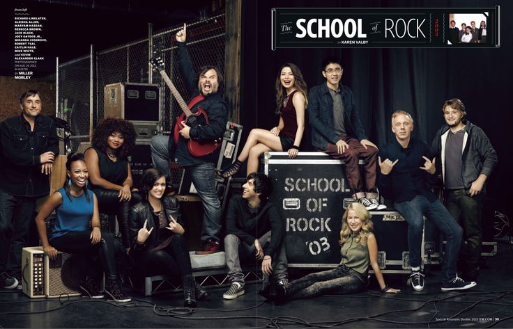 Jack Black and the School of Rock kids 10 years later - Imgur